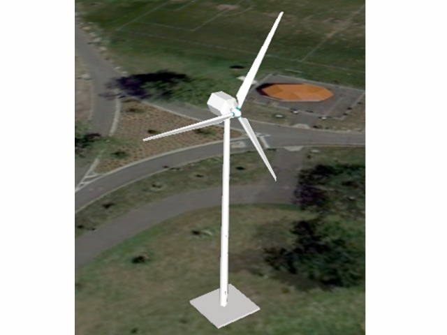 100 kW Wind Turbine 