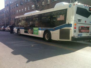 A young woman was hit by a bus on Lorimer Street near Marcy Avenue on March 26, 2012.