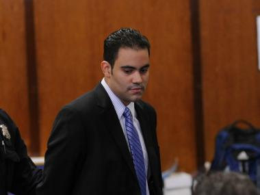 Michael Pena in court March 15.