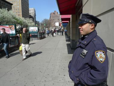 More cops are patrolling Upper West Side streets following a recent uptick in crime.