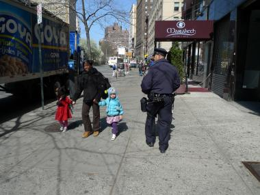 More cops are on the streets of the Upper West Side.