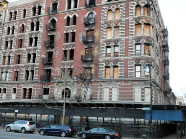A fire broke out at 92 Morningside Avenue the day after a 3-alarm blaze at the same location, March 26, 2012.