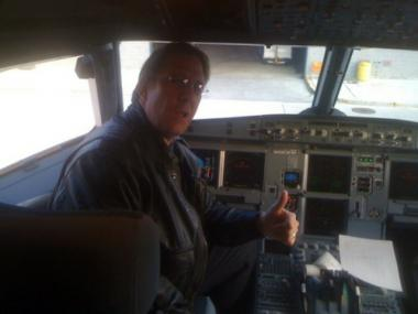 Clatyon Osbon, the JetBlue captain who had a meltdown aboard a flight from New York to Las Vegas March 27, 2012, forcing the plane to make an emergency landing in Texas.
