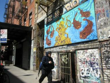 ABC No Rio is a fixture on Rivington Street.