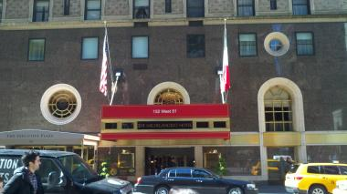 Richard Descoings, 54, was found dead at the Michelangelo Hotel, on West 51st Street near Seventh Avenue.
