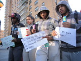 Trayvon Martin Remembered at Harlem Hoodie March
