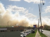 Firefighters Extinguish Massive Brush Blaze on Staten Island