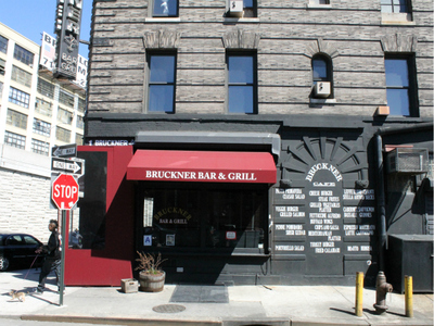 Bruckner Bar and Grill, a South Bronx institution at 1 Bruckner Blvd.