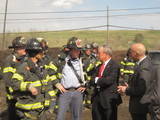 Smoke from Staten Island Brush Fire Not a Health Concern, Mayor Says