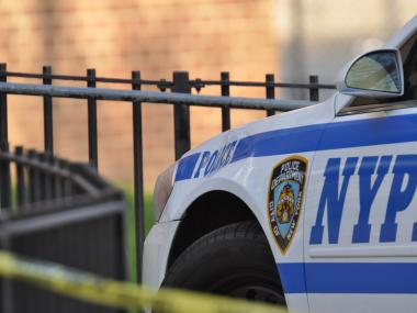 Cop Alexandru Baiasu, 27, was busted for allegedly assaulting his girlfriend at his Forest Hills home on April 14, 2012.