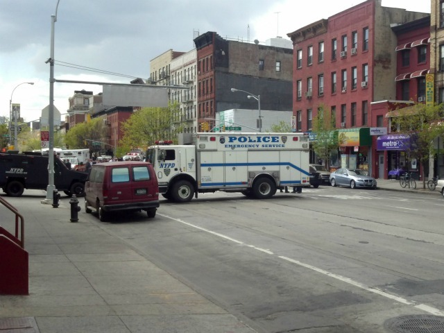 One person was killed and two were injured during a shooting in East Harlem Thursday morning.