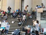 Police Arrest 10 OWS Protesters at Federal Hall Monday Night