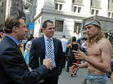Occupy Protesters Arrested for Camping Out on Wall Street