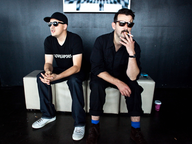 Berlin electronic music duo Modeselektor play the Bowery Ballroom Wednesday night.