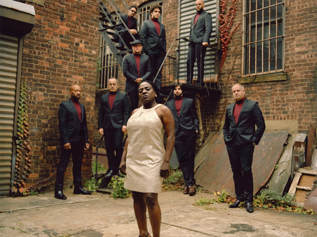 Sharon Jones & The Dap-Kings at the Beacon Theater Saturday night as part of Live from Daryl's House Nu-Soul Revue.