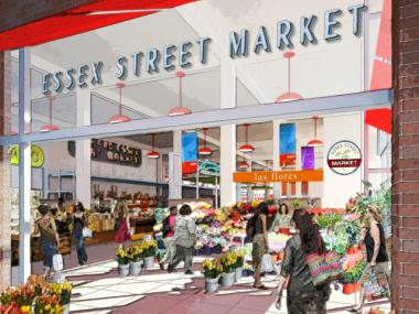 The city is proposing to move the Essex Street Market to a new, larger space south of Delancey Street.