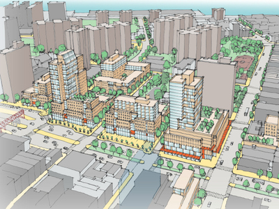 The city hopes to build a 1.65 million-square-foot development on the Seward Park Urban Renewal Area site.