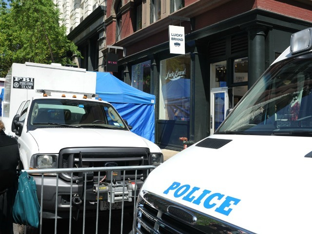 Police and FBI converged on Prince and Wooster streets April 19, 2012 to search for the remains of 6-year-old Etan Patz, who disappeared in 1979.