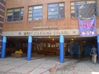 Edward A. Reynolds West Side High School marks its 40th birthday on May 1, 2012 with a community celebration.