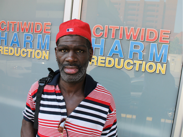 <p>Edward Harris, a client at CitiWide Harm Reduction since 1996, said the center is &amp;quot;like home.&amp;quot;</p>