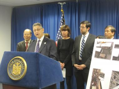 Assembly Speaker Sheldon Silver announced a deal Monday on legislation to regulate Chinatown and other intercity buses.