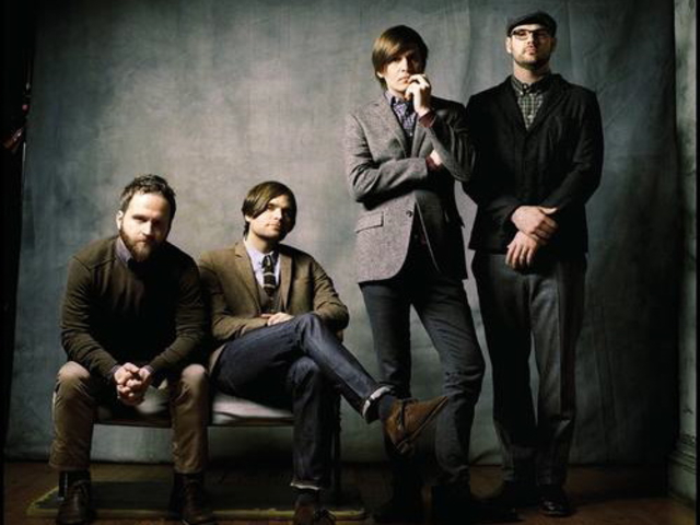 Indie rockers Death Cab For Cutie released their fist album