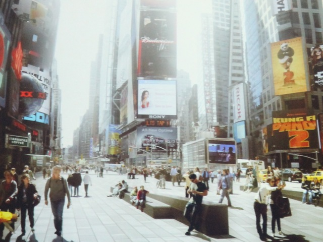 <p>A rendering of the redesigned Times Square.</p>