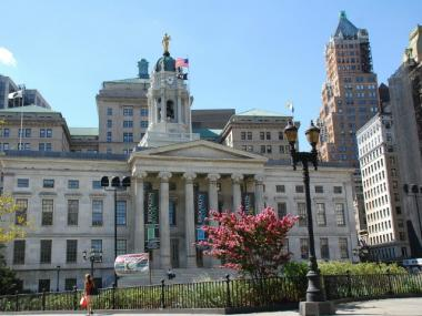 The new Downtown Brooklyn historic district includes Brooklyn Borough Hall.