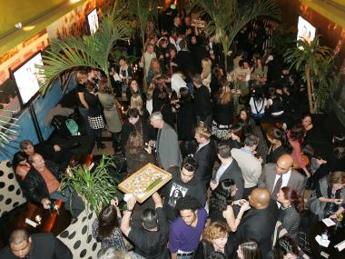 The old Bungalow 8 on West 27th Street held hip, celebrity-filled parties like this one in 2006.