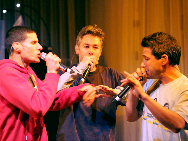 The Beastie Boys performing in 2006.