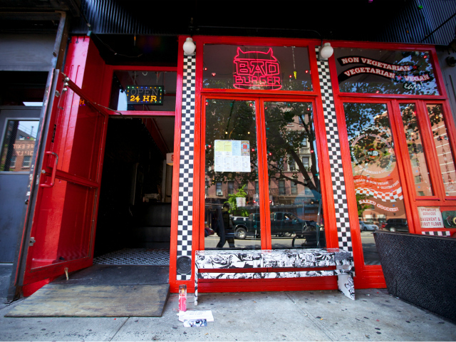 The Beastie Boys recorded their first album at 171 Avenue A, now home to Bad Burger.