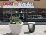 Delhi Heights Looks to Open Sidewalk Cafe in Pedestrian Plaza
