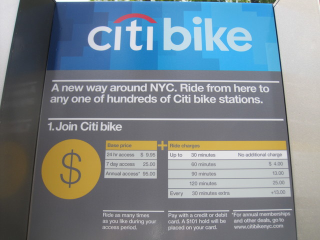 <p>The new bike shares will cost $95 for an annual membership.</p>