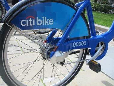 Citi will be the sponsor of the city's new bike share program.