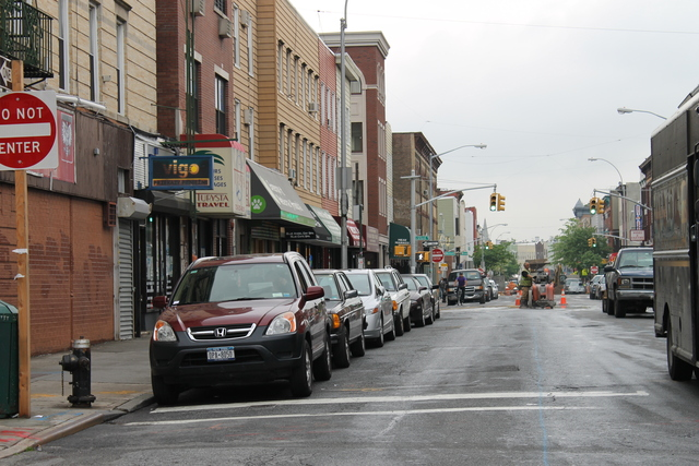 Nassau Avenue reconstruction started in March, and businesses have been suffering since.