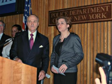 City Council Speaker Christine Quinn would blow Police Commissioner Ray Kelly away in a head-to-head match-up to become the next mayor, according to a new poll out Thursday.