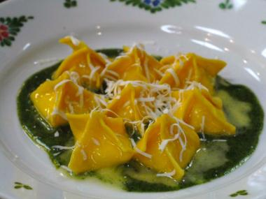 The SoHo restaurant Osteria Morini is acclaimed for its fresh pasta.