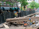 Chambers Street Construction Work Extended Through 2014