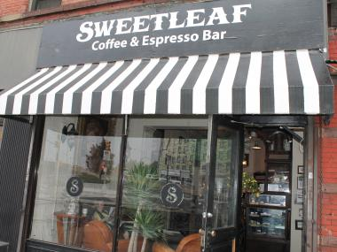 The original Sweetleaf in Long Island City. A new Sweetleaf nearby will serve cocktails in addition to coffee.