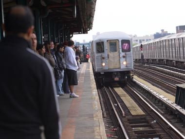 The  MTA  brought two more subway lines into service Friday morning, and  New Jersey Transit  trains started running to and from New York Penn Station, the agencies announced Friday morning.