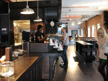 Sweetleaf opened on Kent Avenue this week after years in Long Island City.