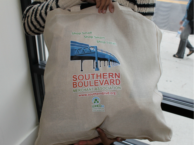 A tote bag for loyal customers.
