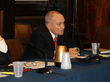 Police Commissioner Ray Kelly testified in front of the City Council on Thurs., May 17th, 2012.