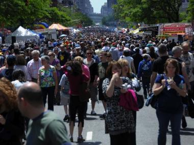 Organizers expect the biggest turnout yet at this year's Ninth Avenue International Food Festival.