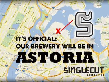 SingleCut brewery is scheduled to open in Astoria this fall.