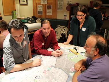 LIC residents had a chance to provide their input on the location of new bike-share stations