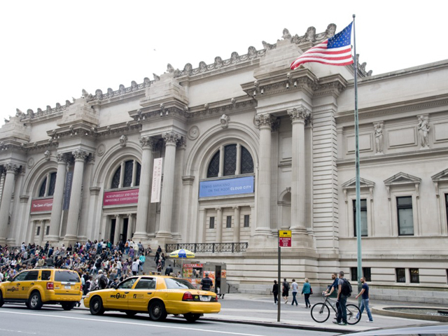 The Blue Stars Museum launch at The MET on May 22, 2012.
