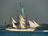 Fleet Week Ships Arrive in New York City for 'Parade of Sail'