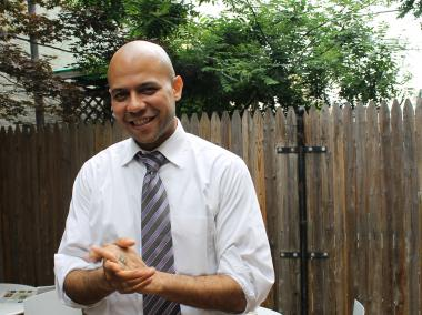 George Martinez is running for New York's 7th Congressional District, which includes South Williamsburg, Bushwick, Sunset Park, Woodhaven, Queens, and part of the Lower East Side.