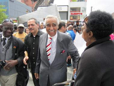 Charles Rangel was endorsed by Adam Clayton Powell IV, May 23, 2012.